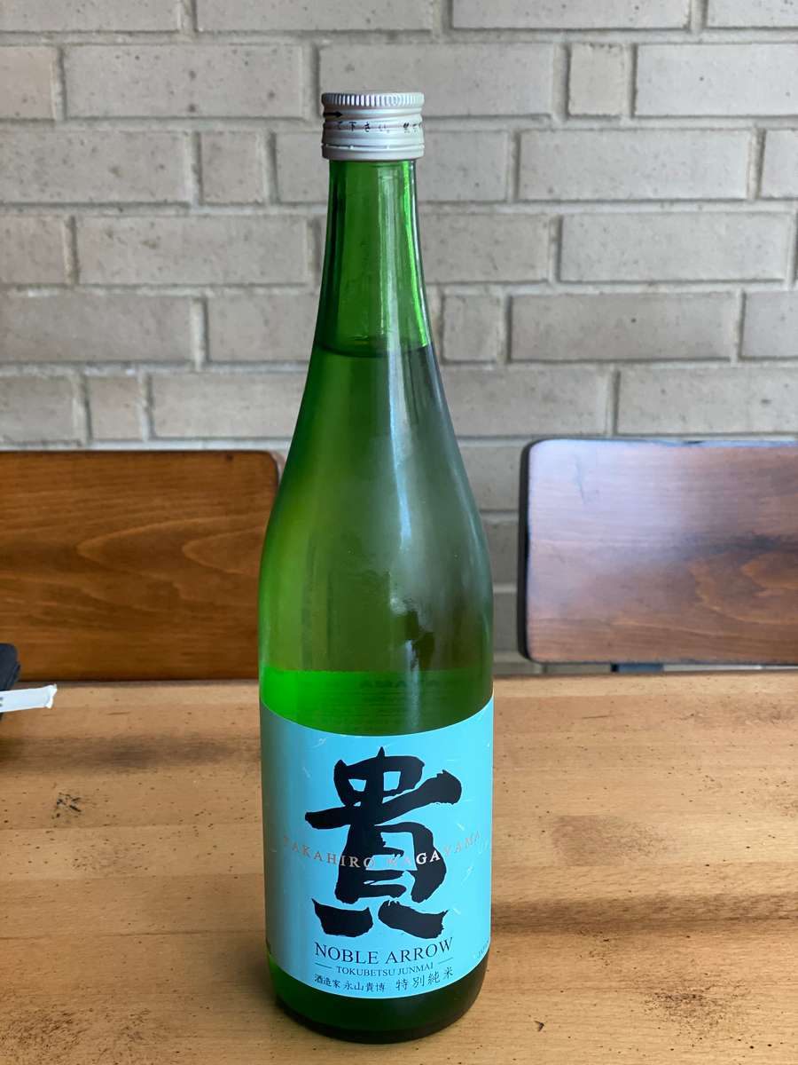 Taka Noble Arrow Tokubetsu Junmai