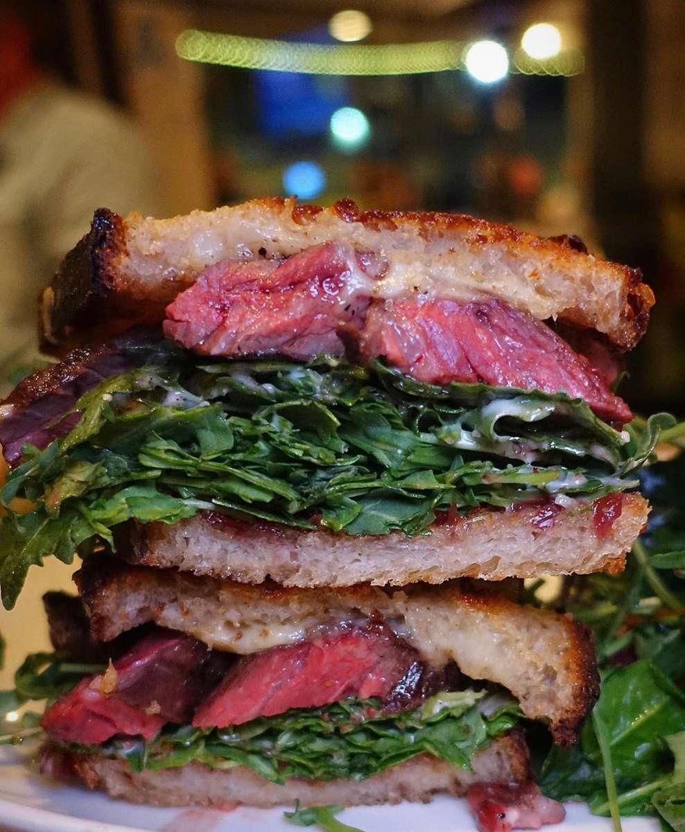 *Steak Sandwich
