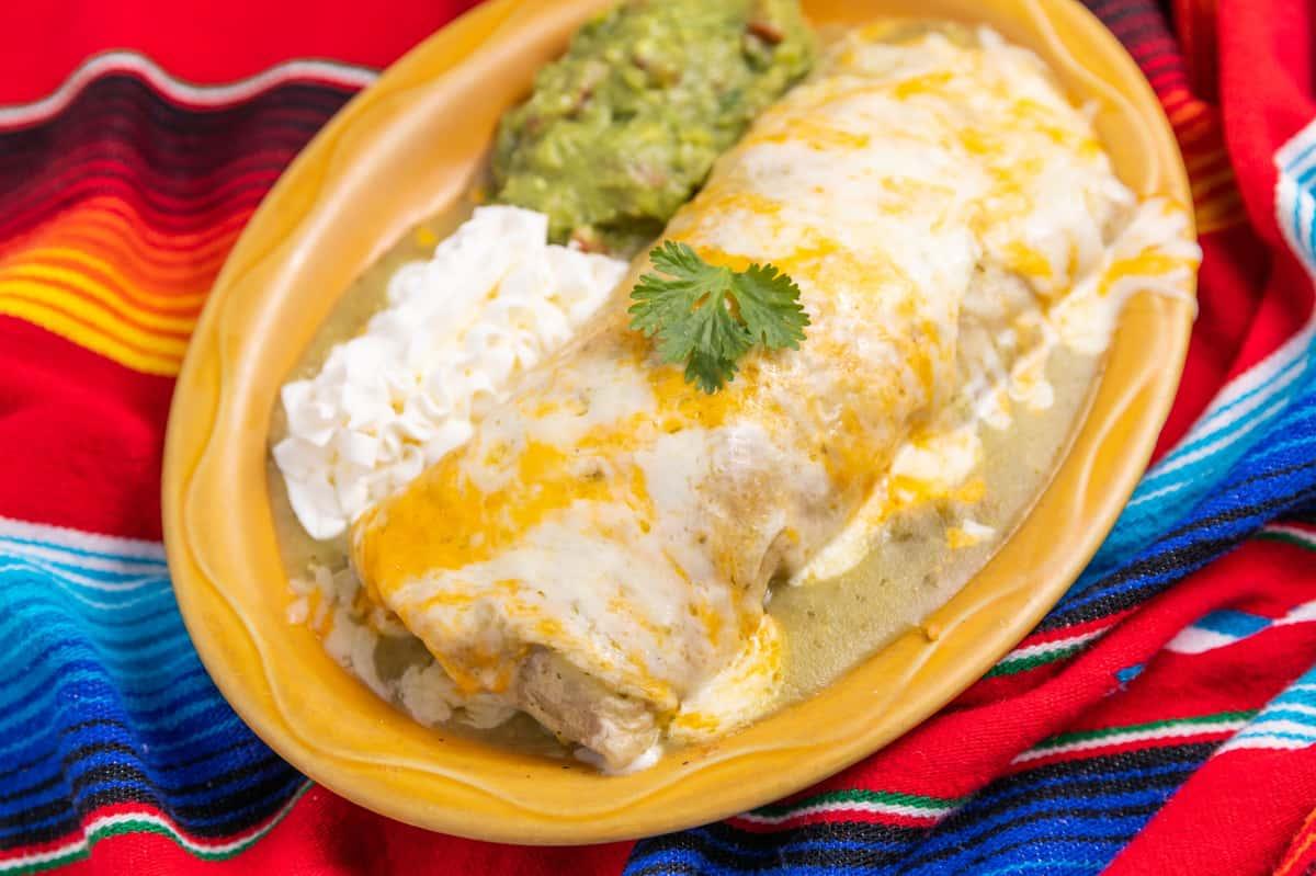 """Burrito """"Puerco Bronco"""""""