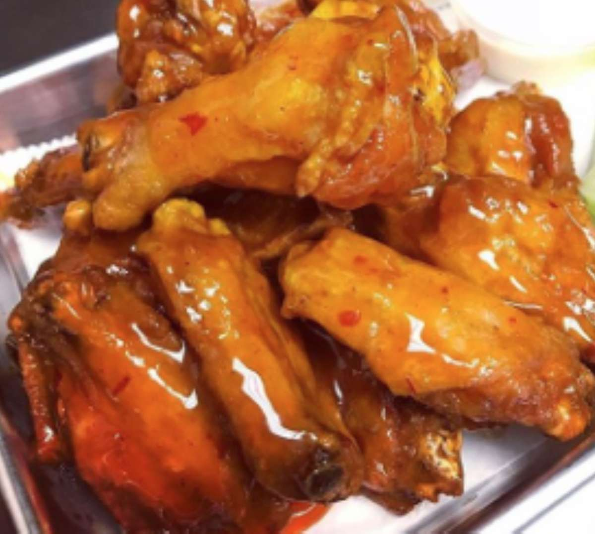 Wings- Mango Habanero (Hot!)