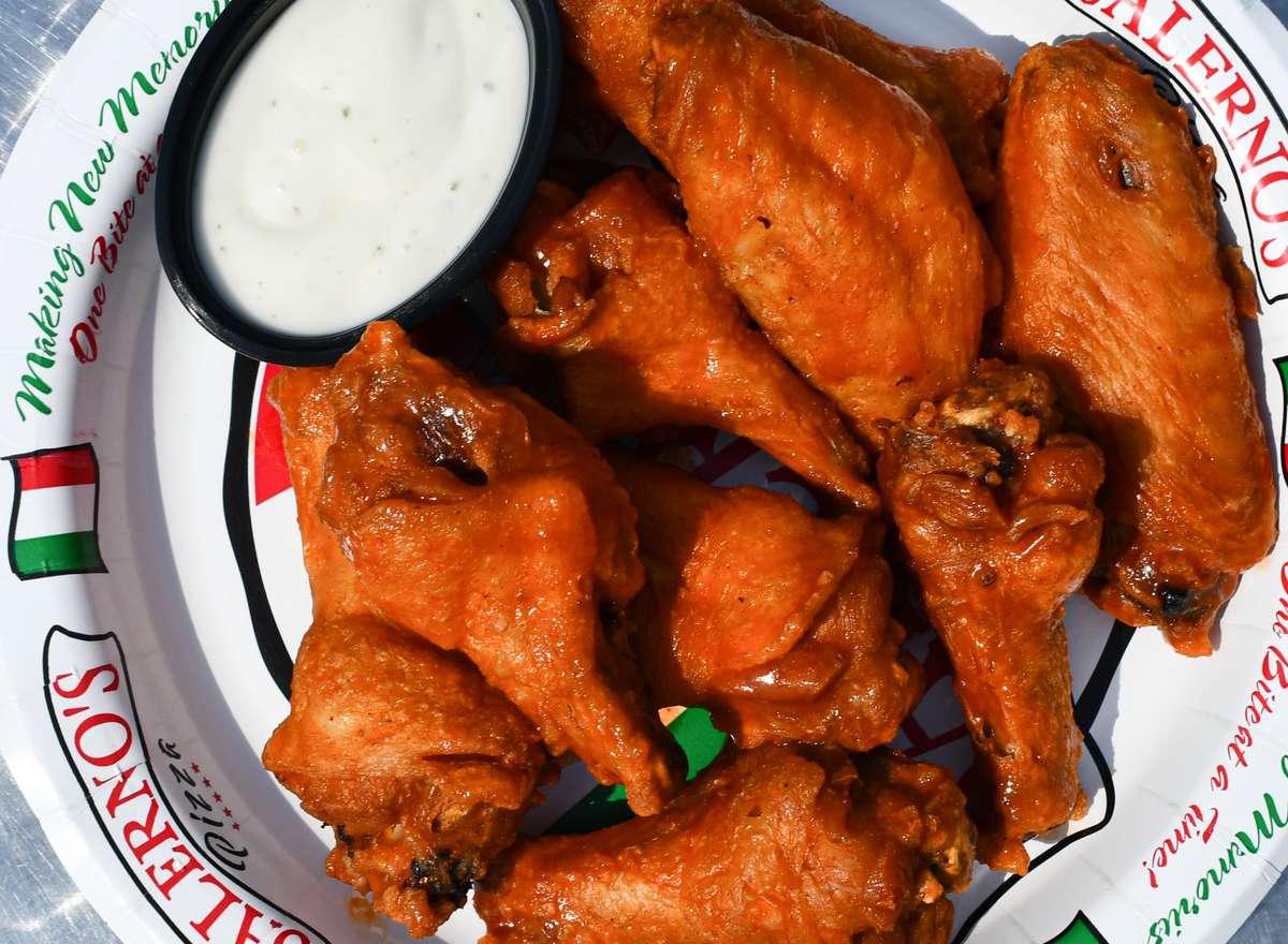Wings- Blazing Hot!