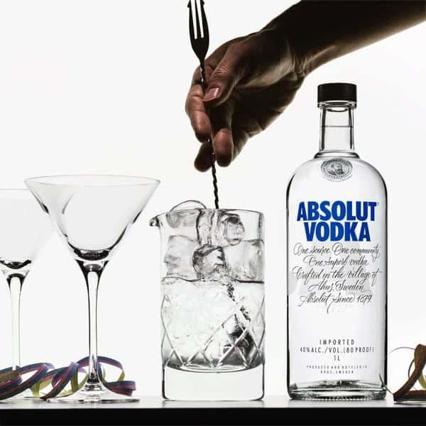 Absolut Martinis