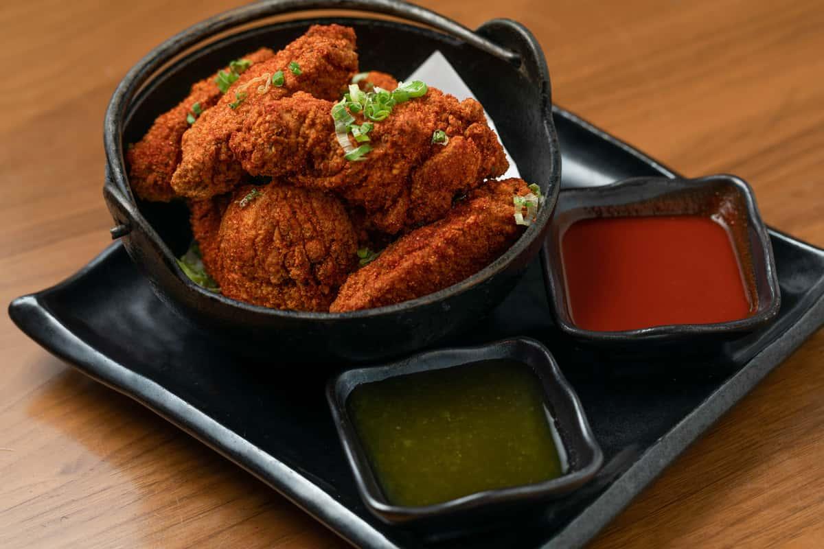Blue Ribbon Fried Chicken Wings