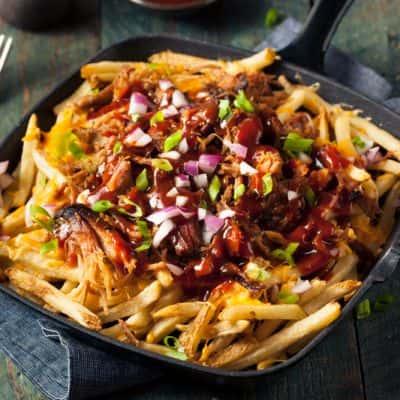 BBQ Loaded Fries