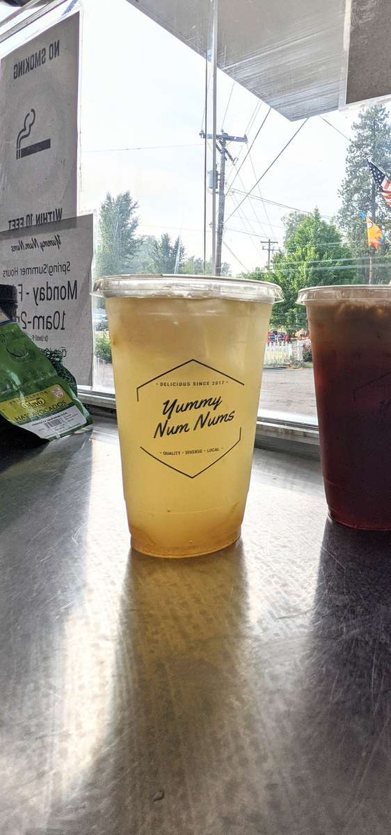 Korean Citron Ginger Honey Tea