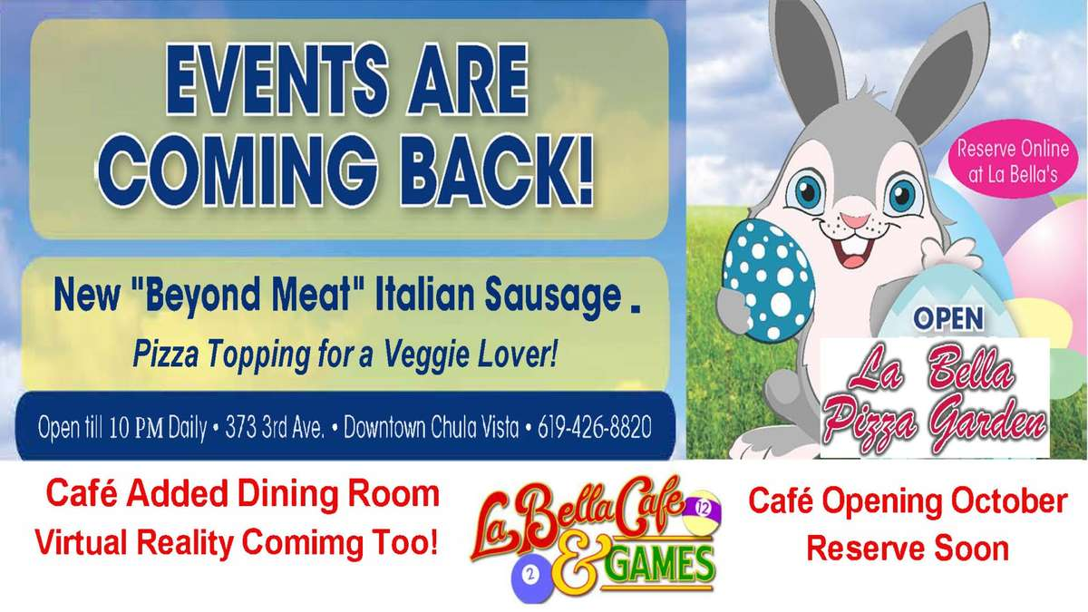 Café Added Dining Area Re-Opening in October