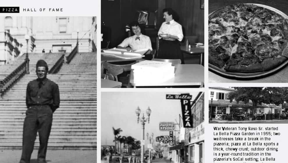 Classic La Bella Pizza Historical Photos