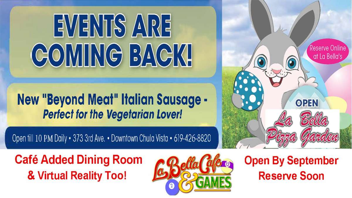 Café Added Dining Area Re-Opening by September