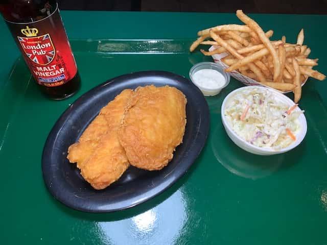 Fried Fish Dinner - Tilapia