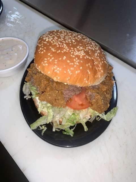 Country Fried Steak Sandwich with Gravy