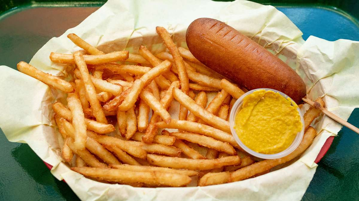 Jr. Corn Dog Meal
