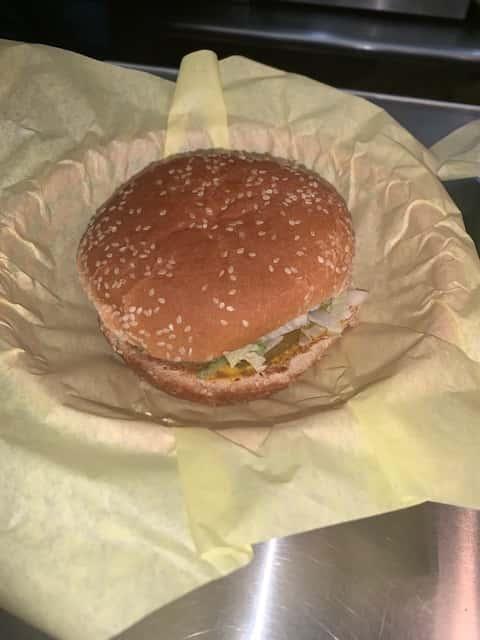 Junior Burger (3.2oz)