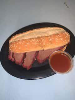Sliced Beef Sandwich