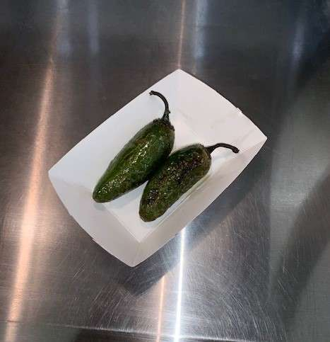 Whole Grilled Jalapenos