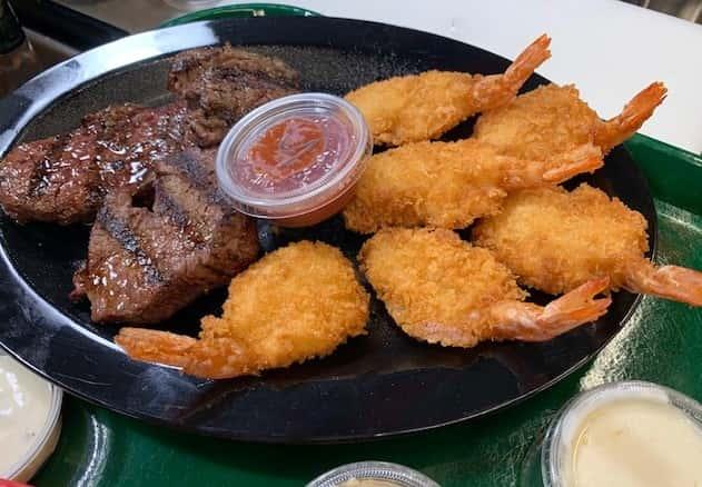 Tenderloin & Shrimp Dinner