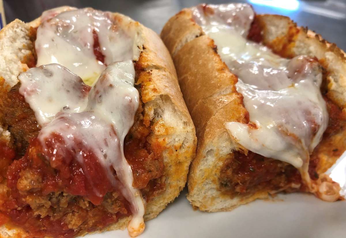 Homemade Meatball Parmesan