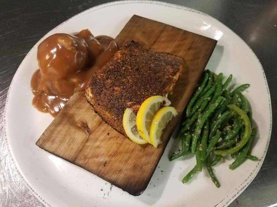 Cedar Plank Salmon*