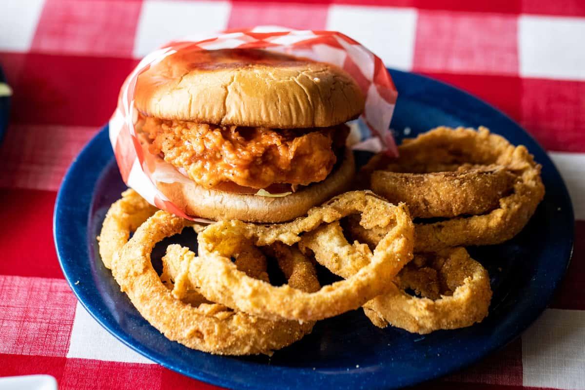 Buffalo Fried Chicken Sandwich