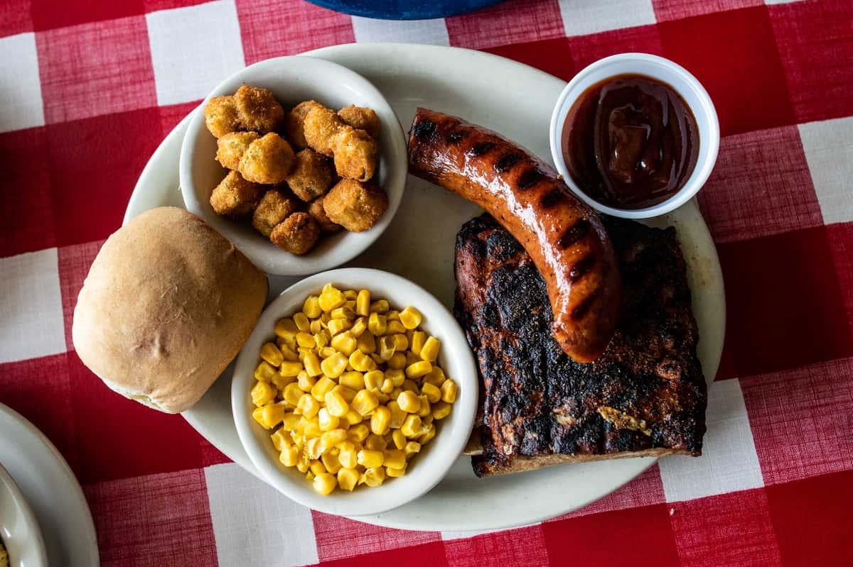 Sausage and Pork Ribs