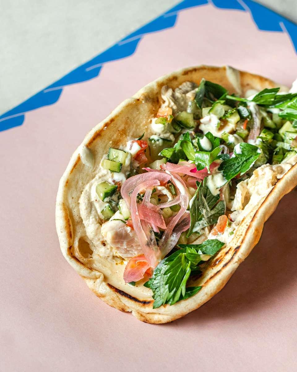 Chicken Pita Wrap