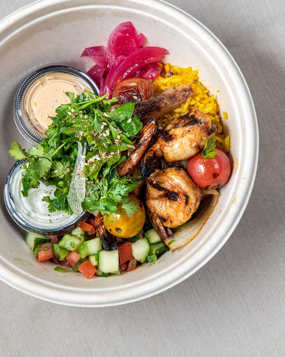 Shrimp Kebab Bowl