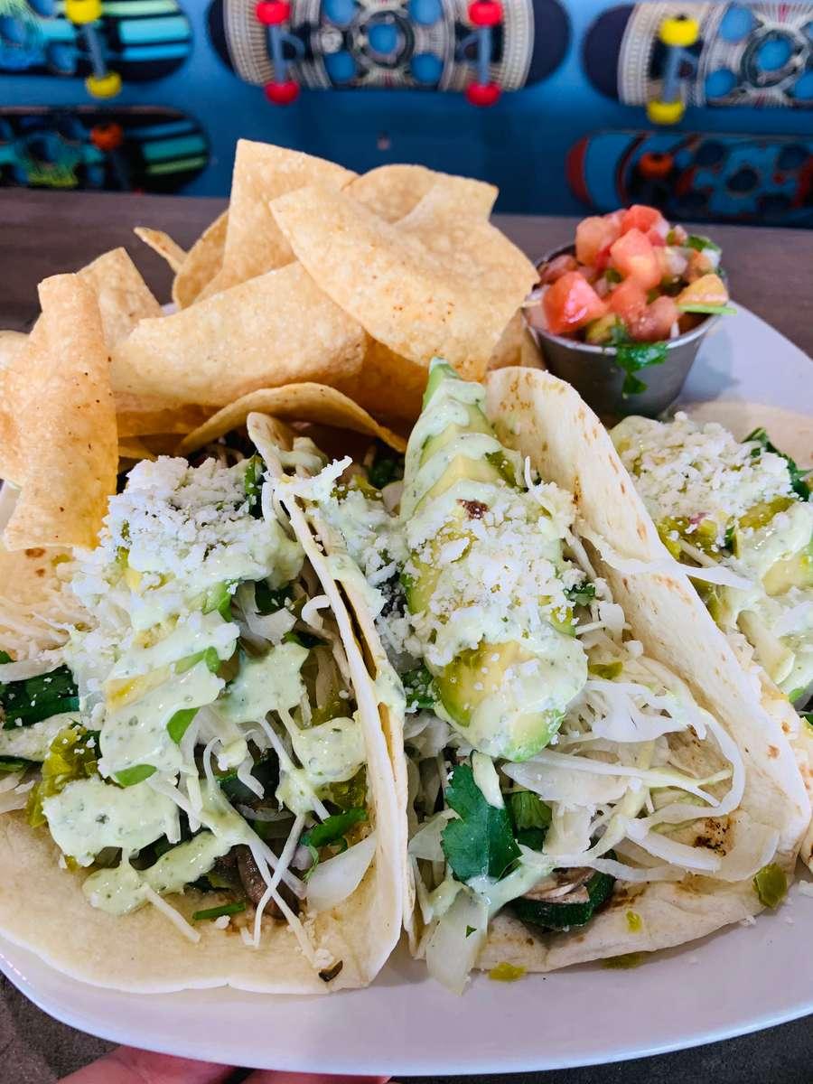 California Love (Veggie Tacos)