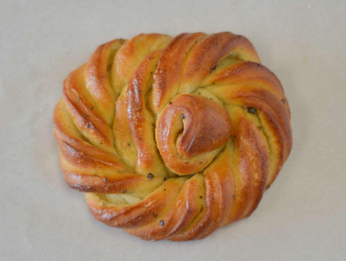 Swedish cardamom bun
