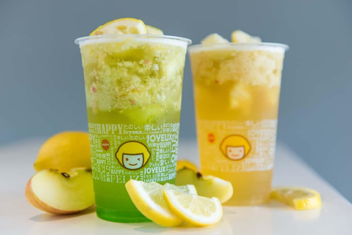apple and lemon tea