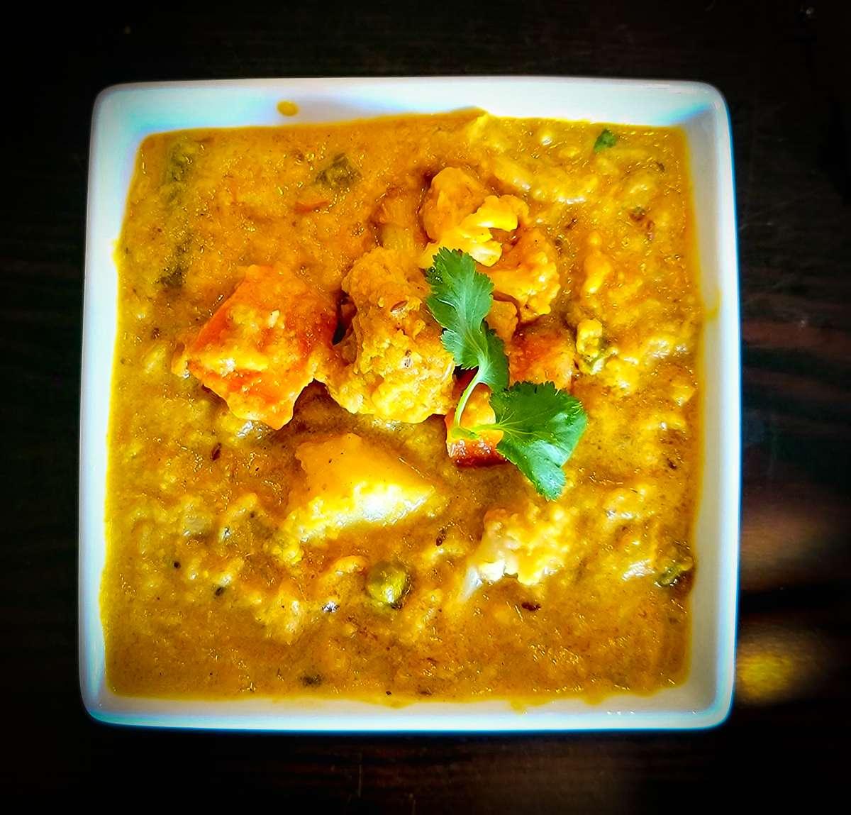 Chettinadu Vegetable Korma
