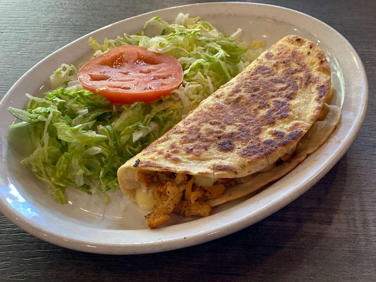 Grilled Chicken or Steak Quesadilla