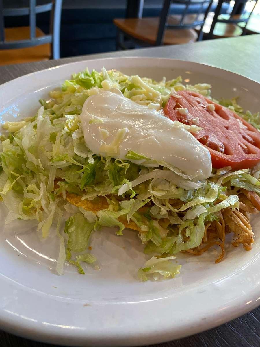 Chicken Tostada (1)
