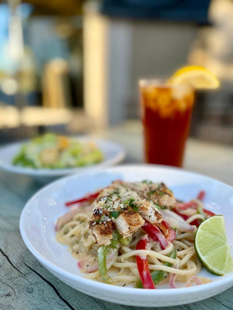 Half Order of Tequila Lime Chicken Pasta