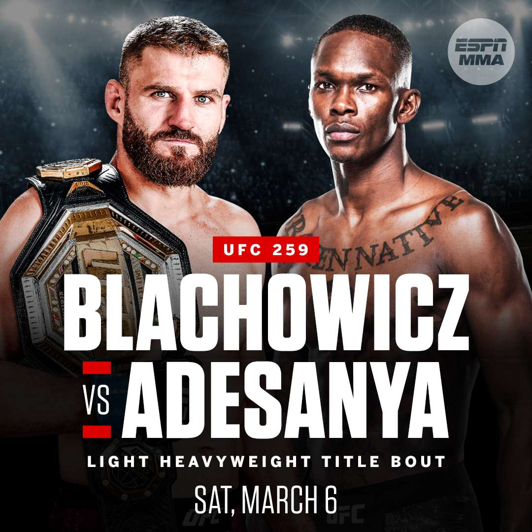 UFC 259 Watch Party
