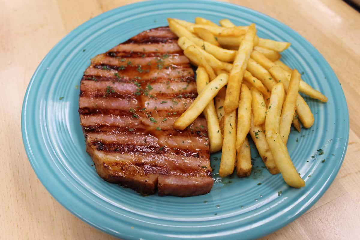 Ham Steak Dinner