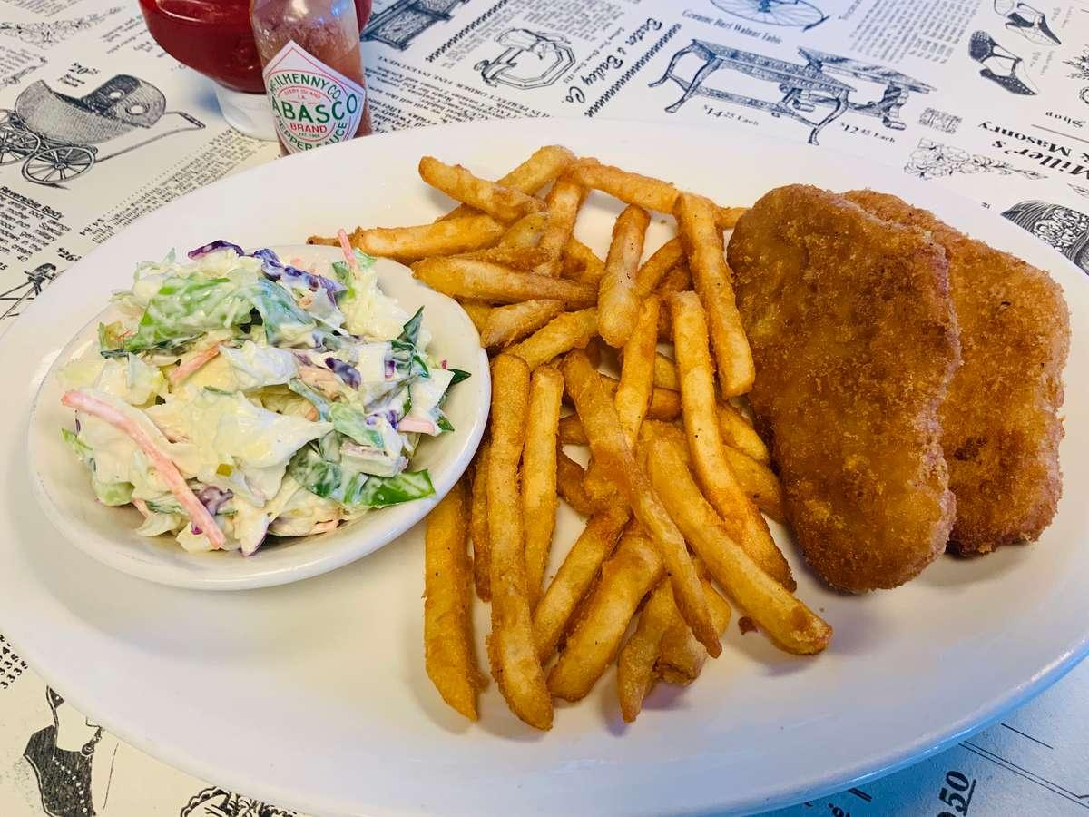 Fried Cod Dinner