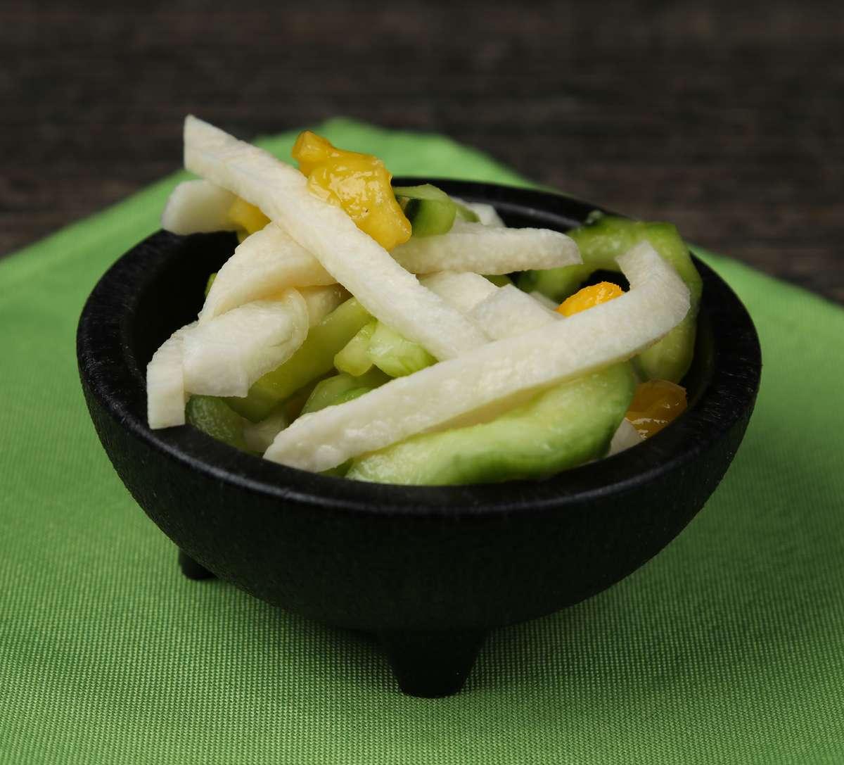 Jicama Mango Slaw