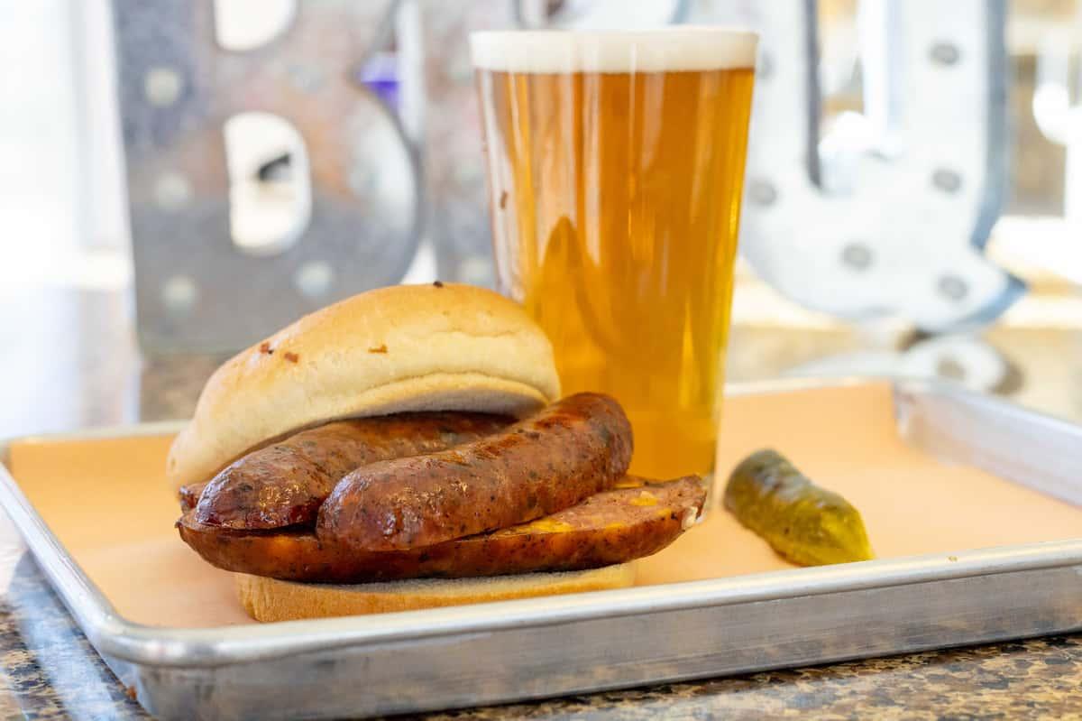 Jalapeño Cheddar Sausage Sandwich