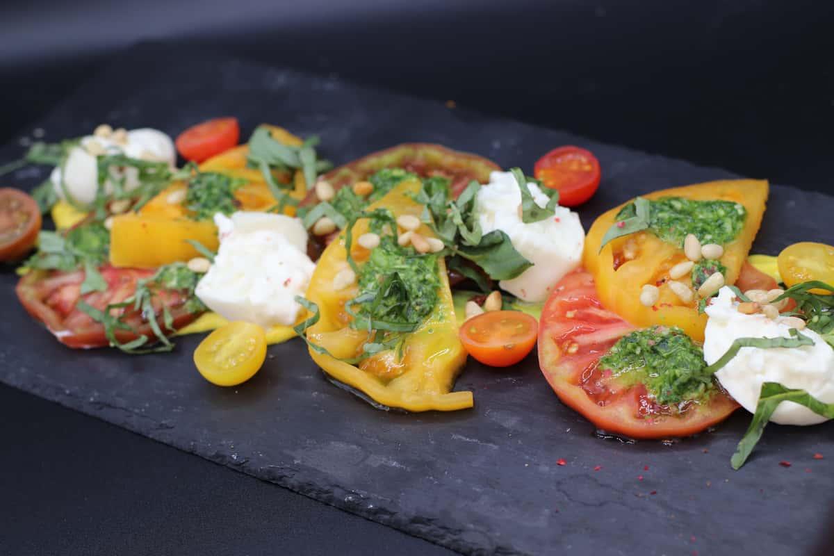 Burrata & Heirloom Tomatoes