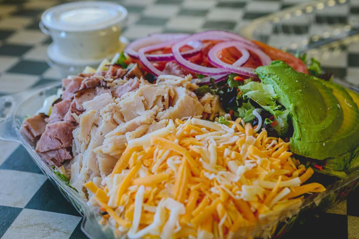 Too Fat Chef Salad