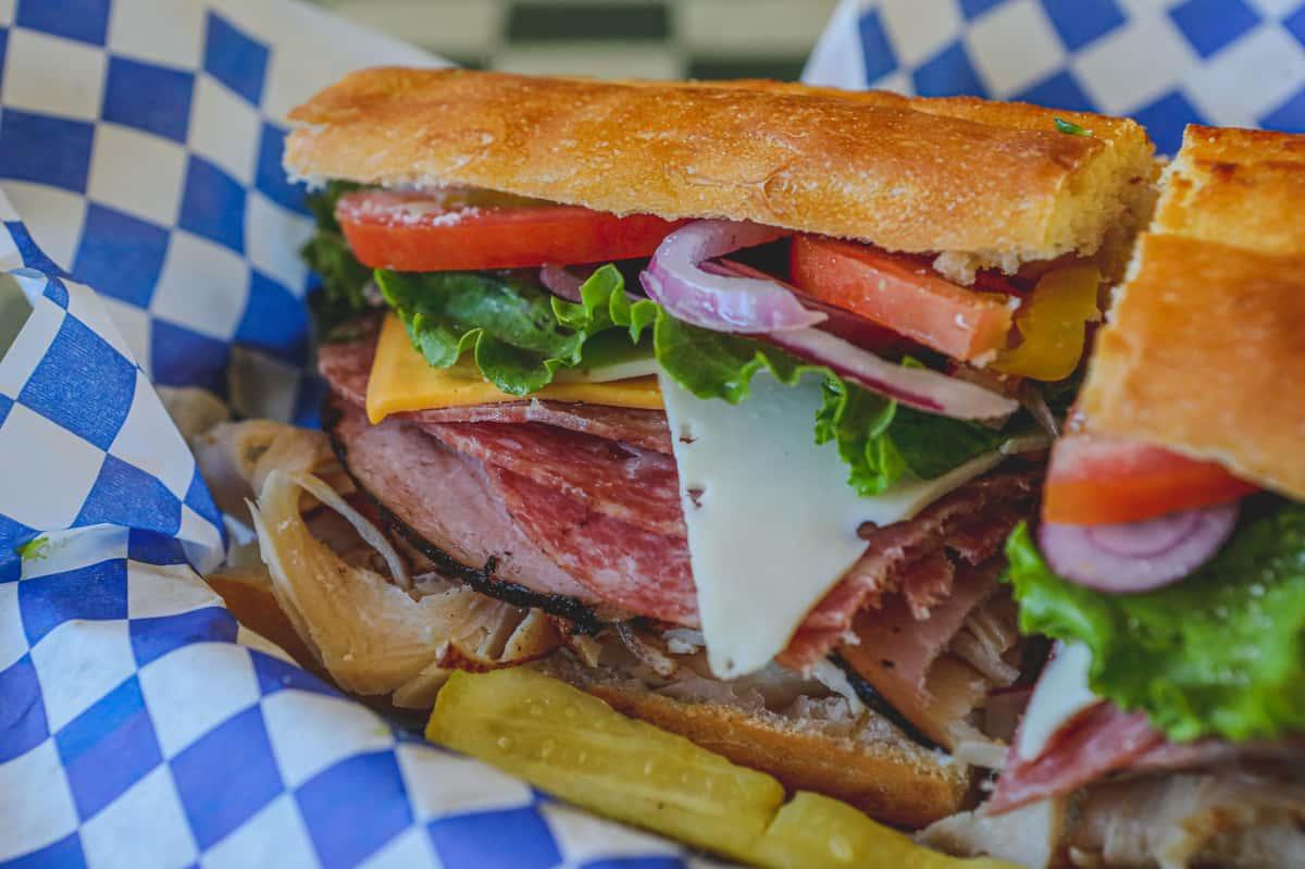 Too Fat Club Sandwich