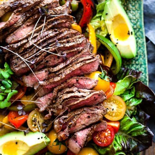BBQ Tri-Tip Salad