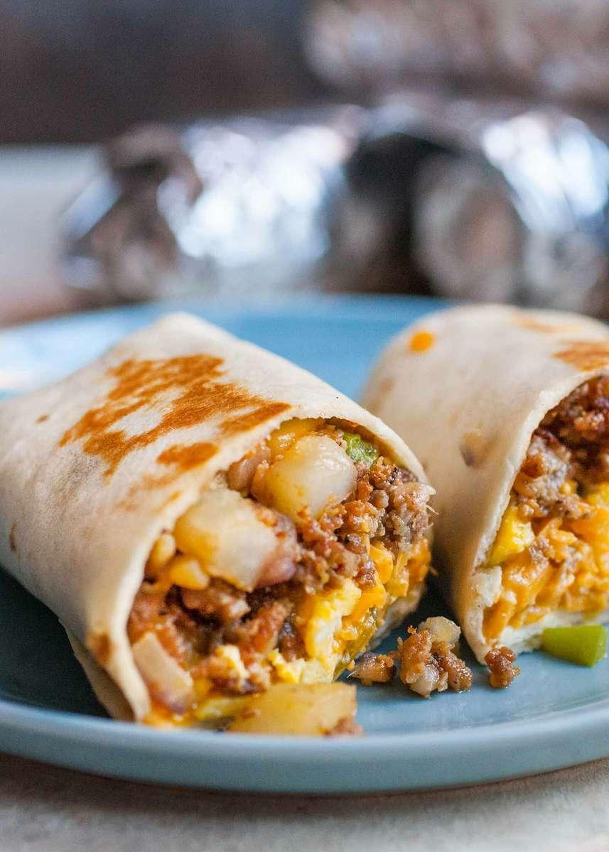 3 Fat Guys Breakfast Burrito