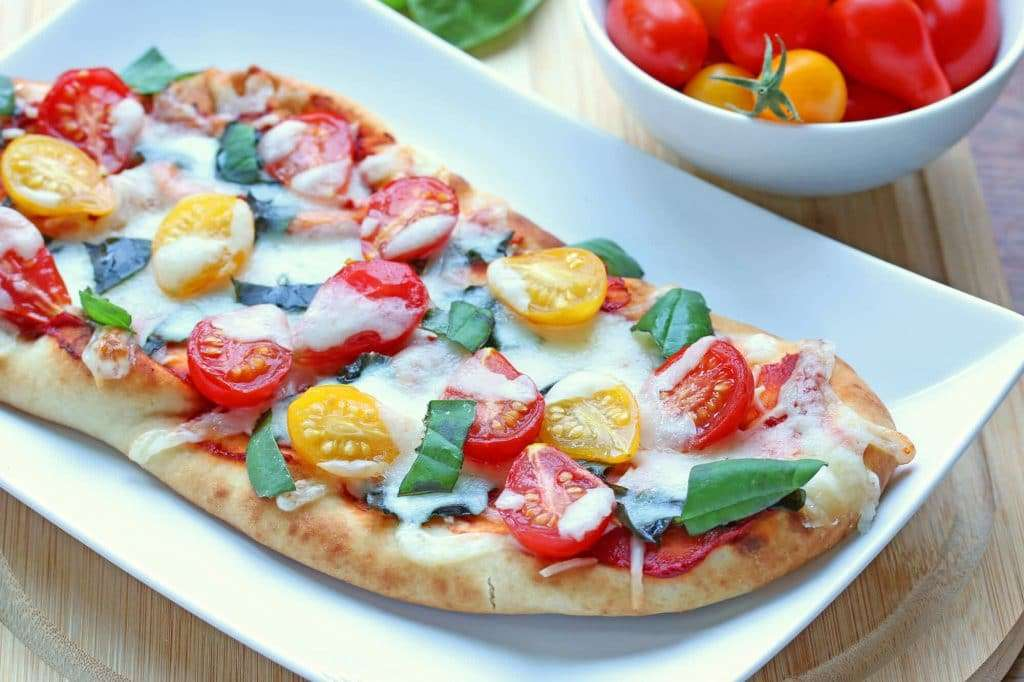 Cherry Tomatoe, Jalapeno & Pineapple Artisan Pizza