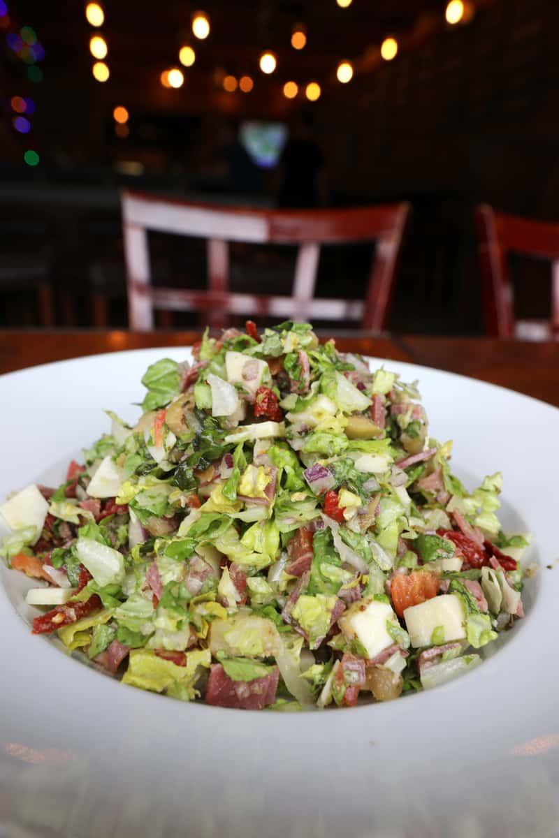 Chopped Muffaletta Salad