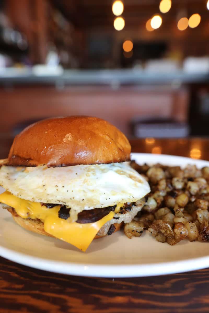 Boneyard Breakfast Burger