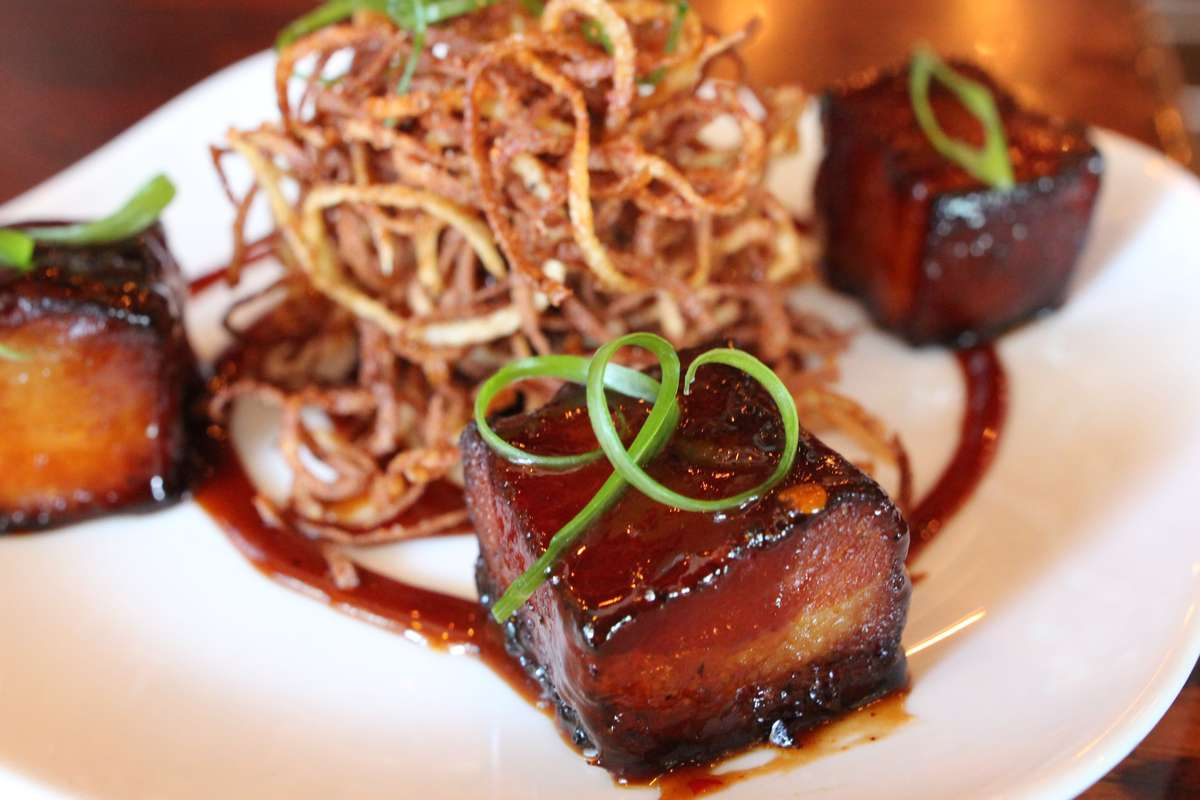 """Boneyard's Famous House Cured & Double Hickory Smoked """"Bacon Building Blocks"""""""