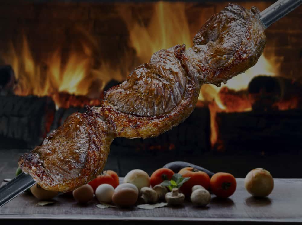 Brazilian BBQ steaks
