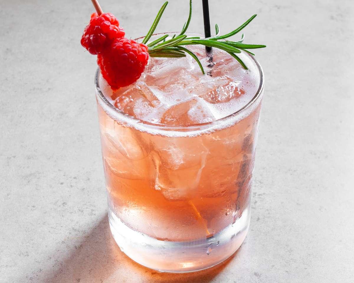 Raspberry Habanero Margarita