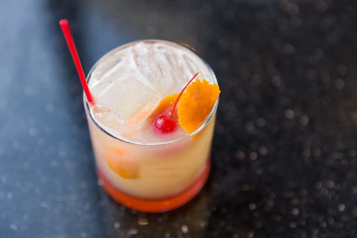 Satin Peach Sour
