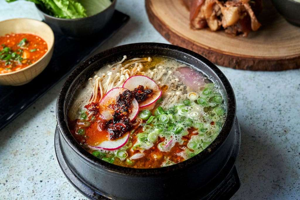 Sate Mushroom Clam Soup (Spicy)